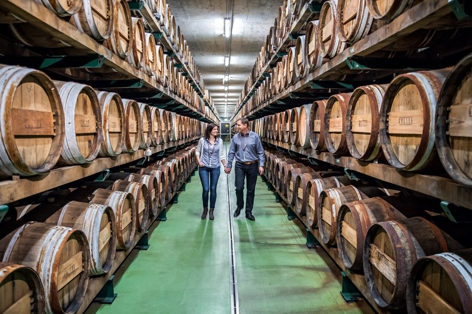 Biggest vinegar barrel cellar in Austria
