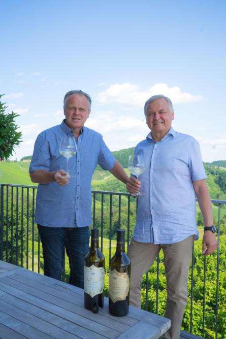 Alois Gölles und Manfred Tement